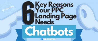 6 Key Reasons You Need Chatbots For PPC Campaigns (Infographic)