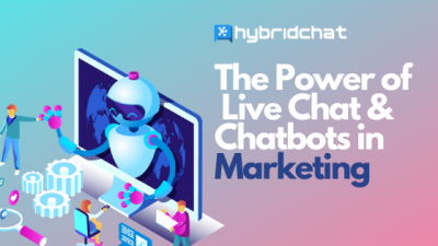 Featured Image: The Power of Live Chat & Chatbots in Marketing
