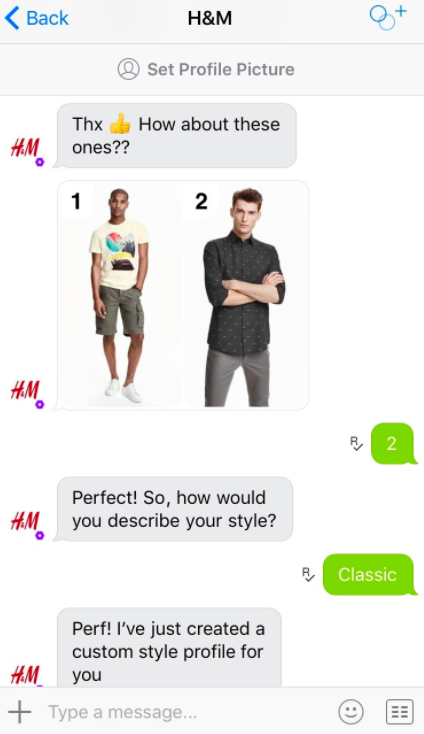 Chatbots as Personal Shopping Assistants